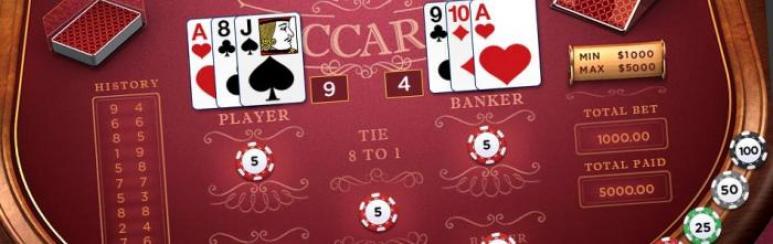 Baccarat Menghadirkan Permainan Kartu Dengan Live Dealer